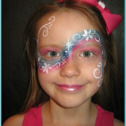 Rainbow Face Painting Ideas