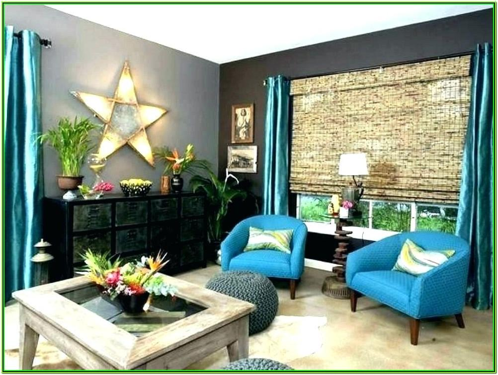 Red And Turquoise Living Room Decor