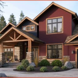Red Brick House Exterior Paint Colors