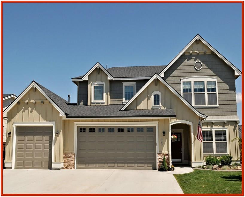Red Roof House Exterior Paint Colors