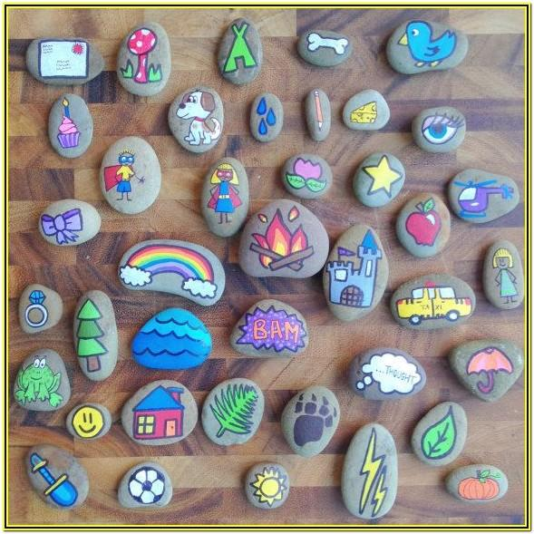Rock Painting Ideas Pinterest