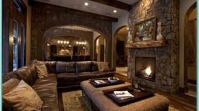 Rustic Paint Ideas For Living Room