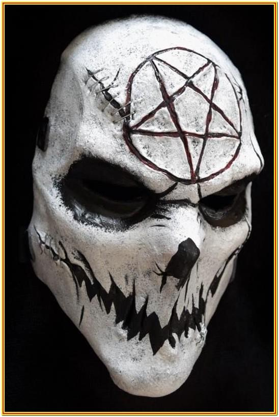 Scary Mask Painting Ideas