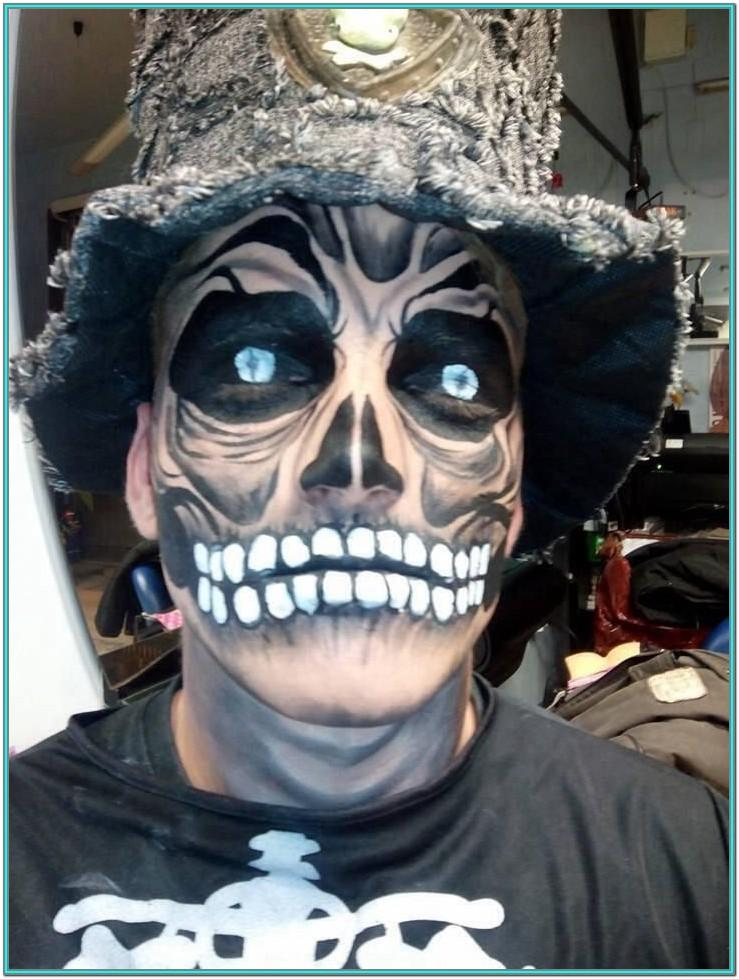 Scary Zombie Face Paint Ideas