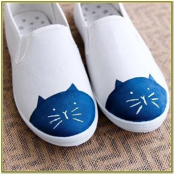 Shoe Painting Ideas Easy