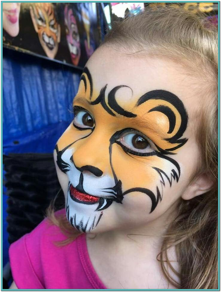 Simple Animal Face Painting Ideas