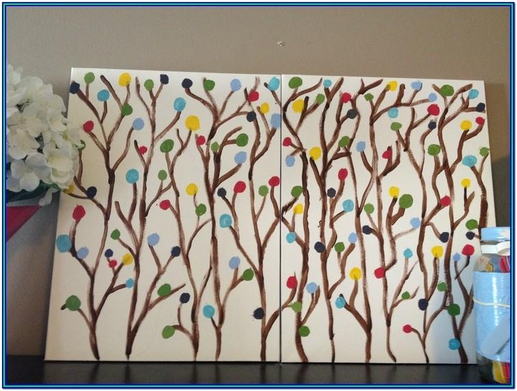 Simple Painting Ideas For Home
