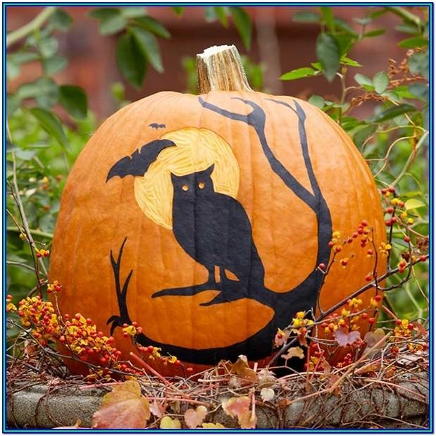 Simple Painting Ideas For Pumpkins