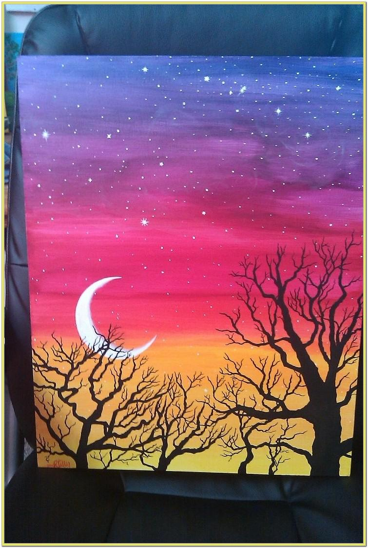 Simple Pretty Painting Ideas