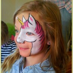 Simple Unicorn Face Paint Ideas