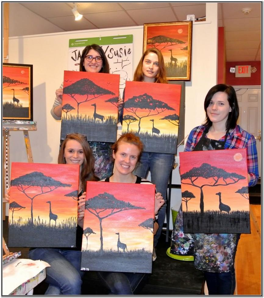 Sip And Paint Ideas At Home