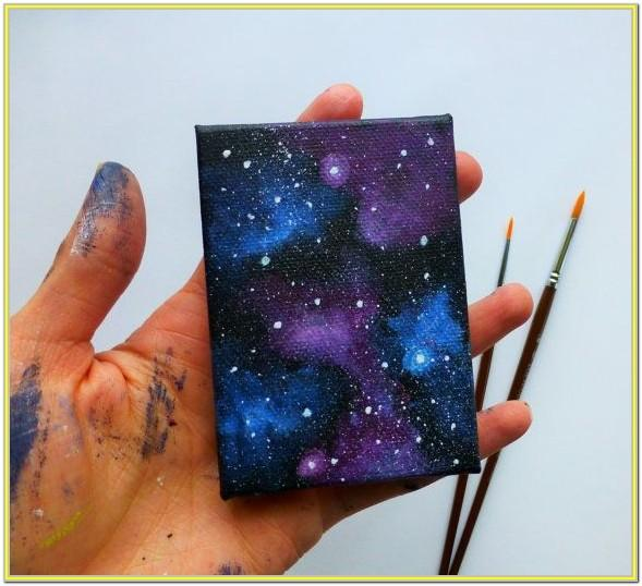 Small Canvas Easy Painting