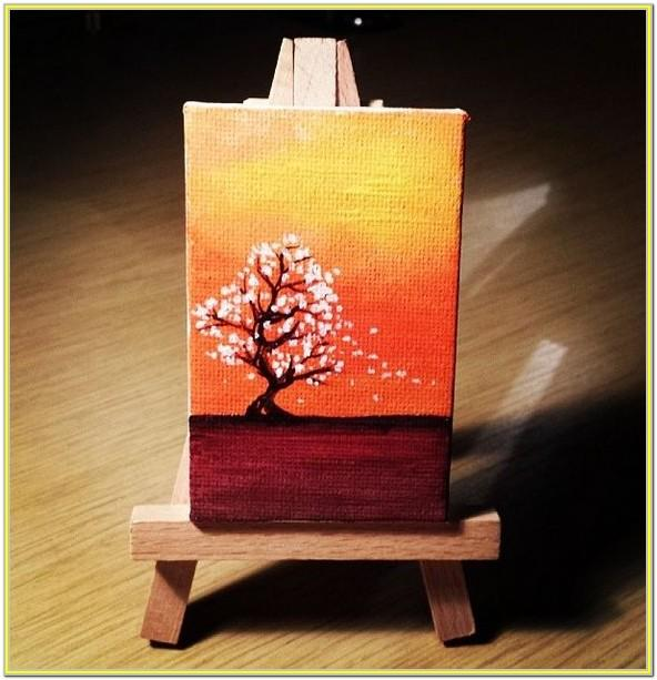 Small Canvas Painting Ideas Easy