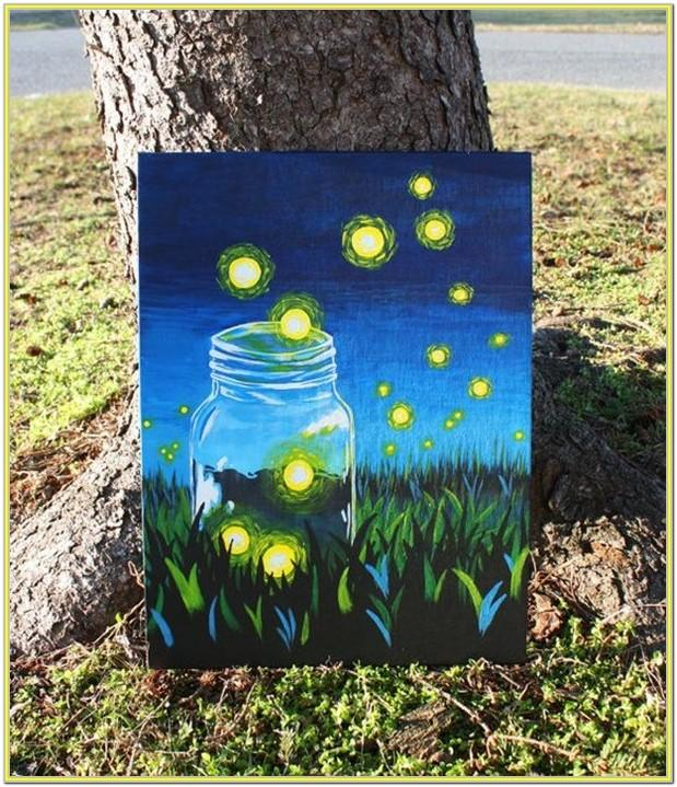 Small Canvas Painting Ideas For Beginners