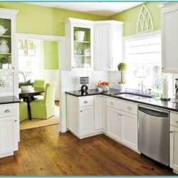 Small Kitchen Paint Ideas With White Cabinets