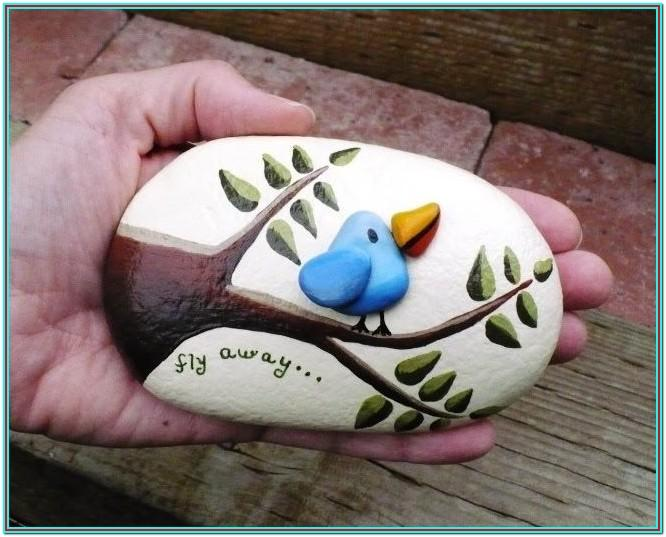 Small Rock Painting Ideas