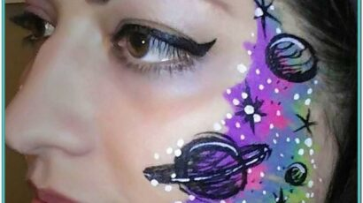 Space Face Painting Ideas