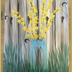 Spring Acrylic Painting Ideas
