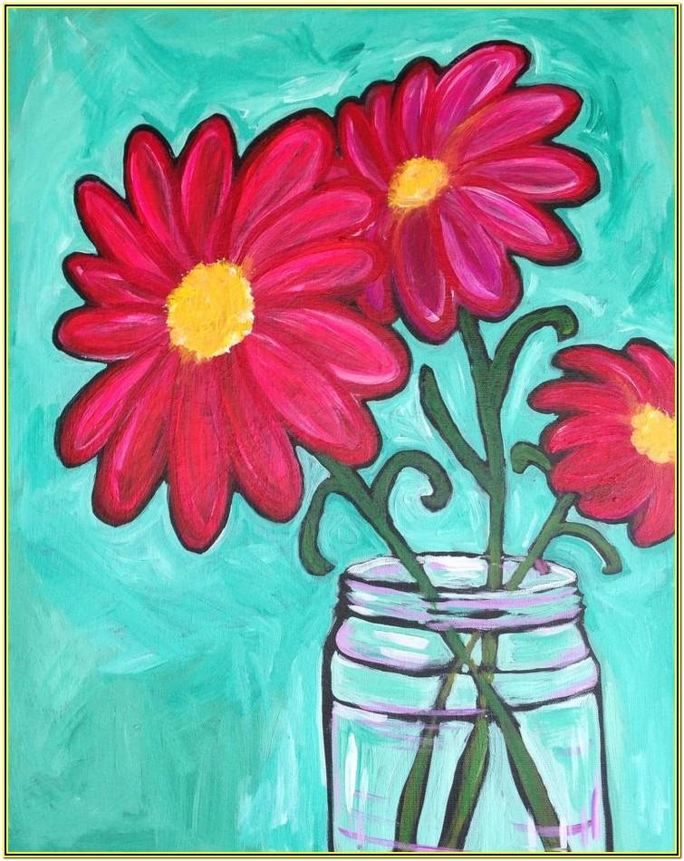 Spring Canvas Painting Ideas