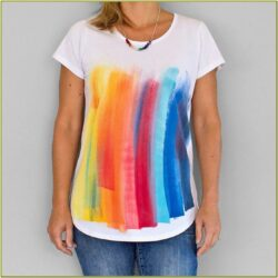 T Shirt Painting Ideas For Holi