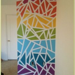 Tape Wall Painting Ideas