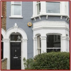 Terraced House Exterior Paint Ideas Uk