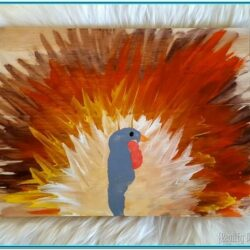 Thanksgiving Finger Painting Ideas