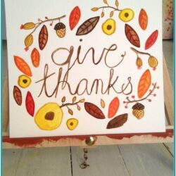 Thanksgiving Painting Ideas On Canvas