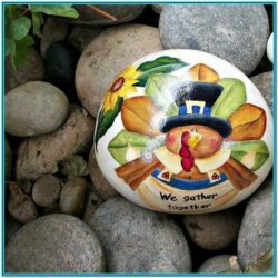 Thanksgiving Rock Painting Ideas