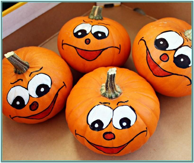 toddler pumpkin painting ideas