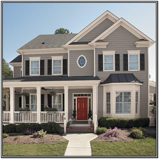 Traditional Craftsman Exterior Paint Colors