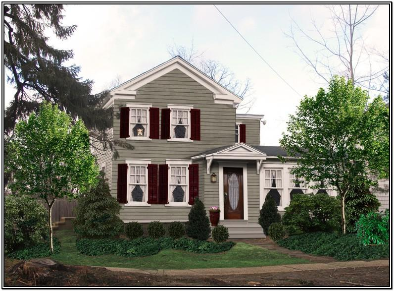 Traditional House Exterior Color Schemes
