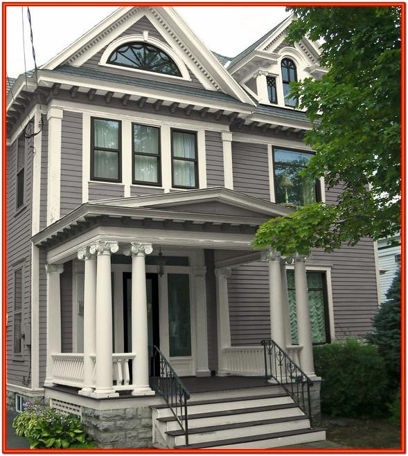 traditional new england exterior house colors