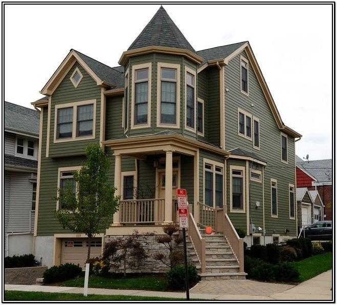 Traditional Victorian Exterior Paint Colours