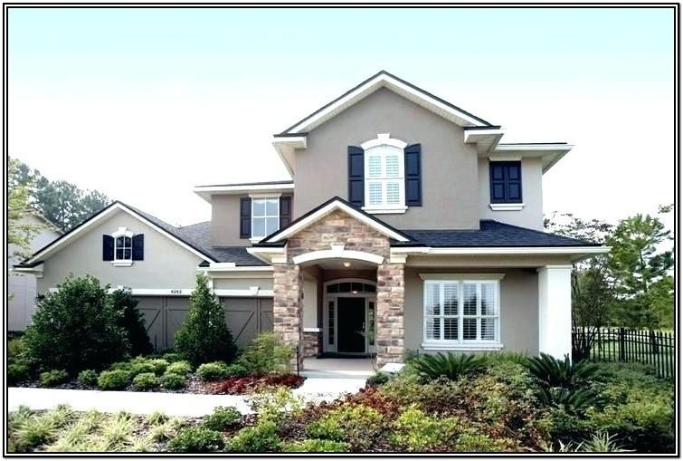trendy exterior house colors 2018