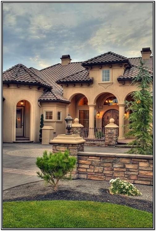 Tuscan Exterior House Colors