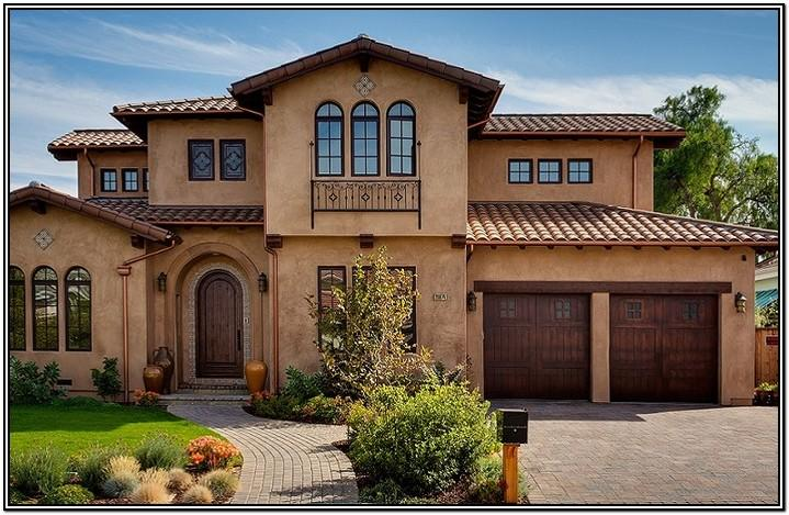 Tuscan Exterior House Paint Colors