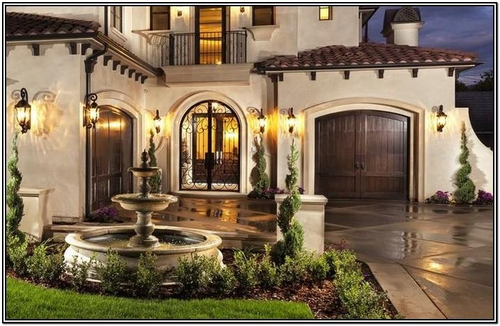 Tuscan Exterior Paint Color Schemes
