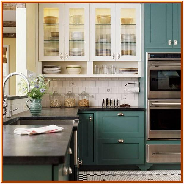 Two Tone Paint Ideas For Kitchen Cabinets
