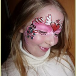 Valentines Day Face Painting Ideas