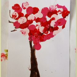 Valentines Day Finger Painting Ideas