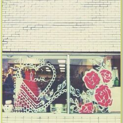Valentines Day Window Painting Ideas