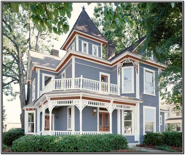 Victorian House Color Schemes Exterior