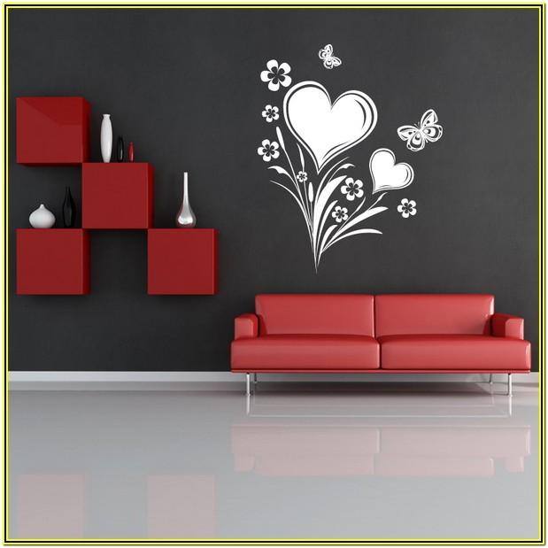 wall painting ideas flowers