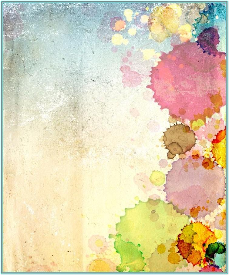 Watercolor Painting Background Ideas