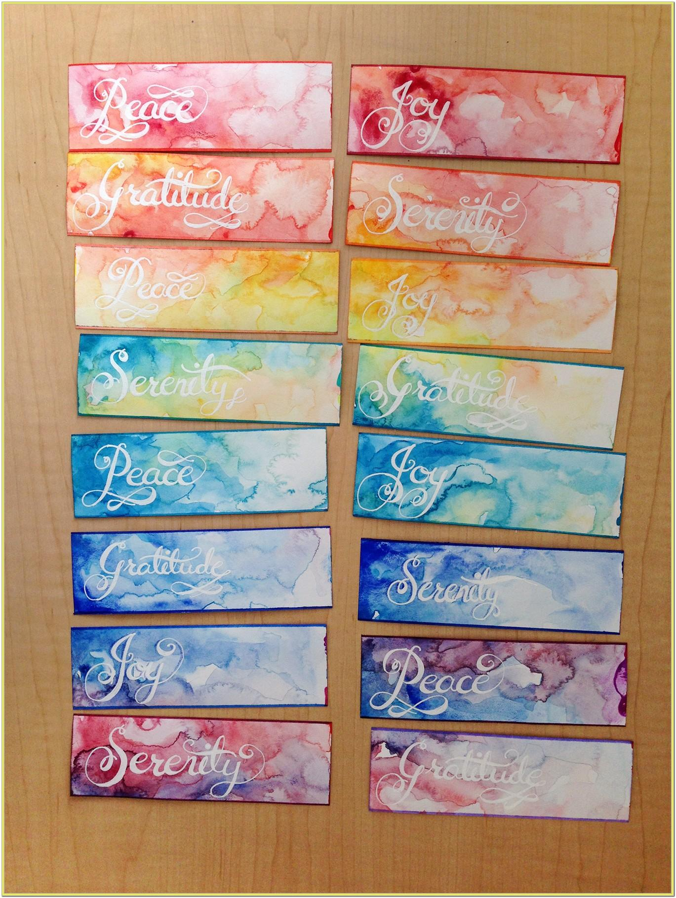 Watercolor Painting Gift Ideas