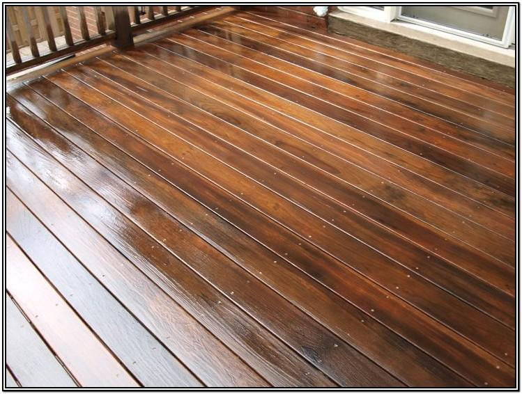 Wattyl Deck Exterior Timber Stain Colours