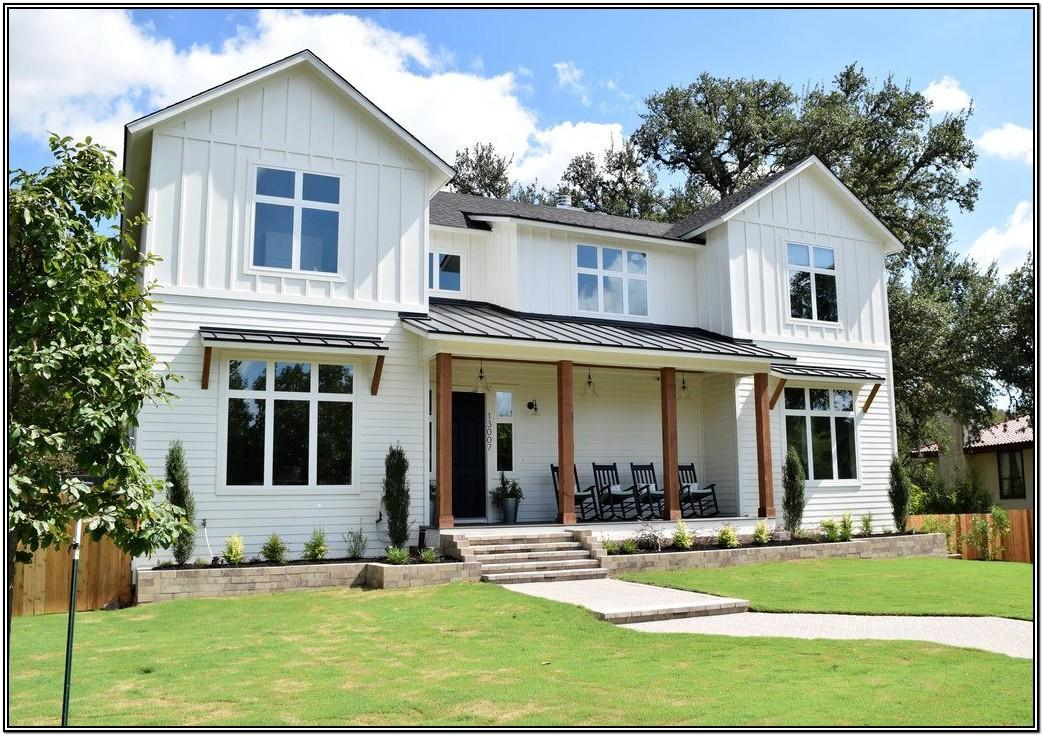 White Exterior Home Color Schemes
