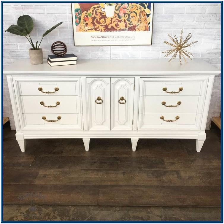 White Painted Dresser Ideas