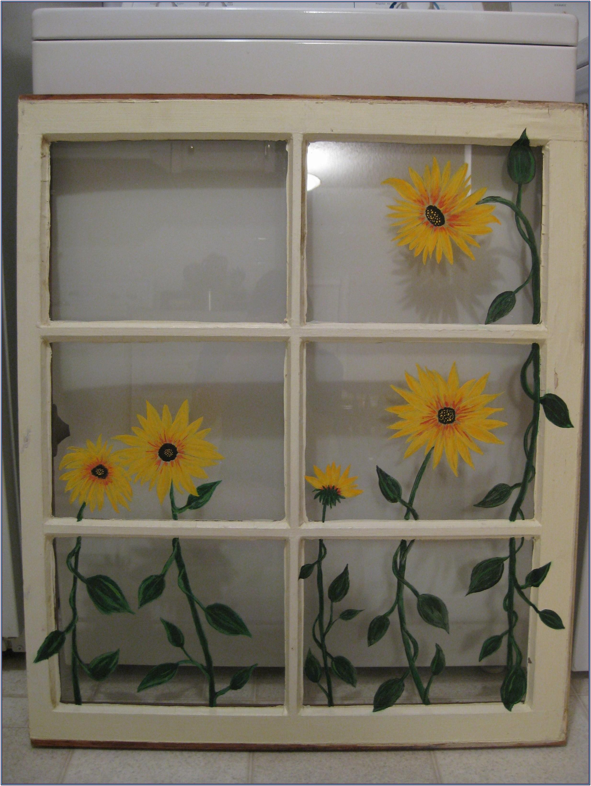 Window Frame Painting Ideas